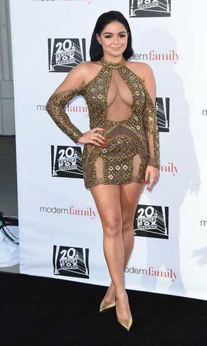 Ariel Winter se transforma en Mariah Carey