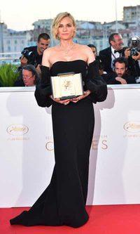 Diane Kruger también gana el premio a la actriz más elegante