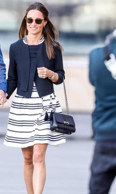 Pippa Middleton y su look marinero