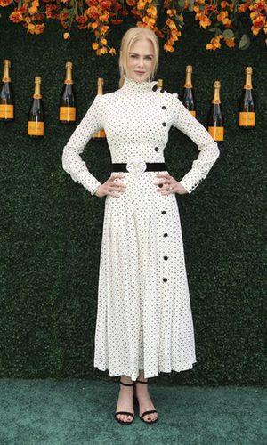 Nicole Kidman muy favorecida con topos