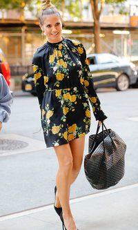 Heidi Klum se viste de primavera