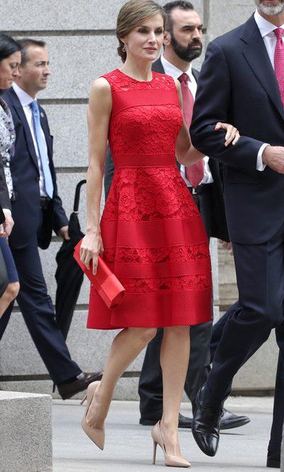 Hermosos vestido rojo - 5 7
