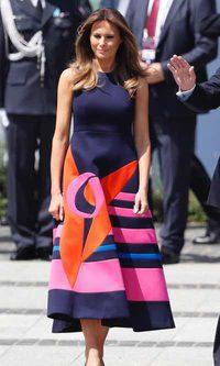 Melania Trump apuesta por la moda española