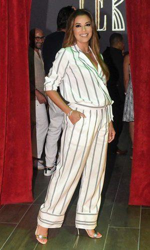 El look oversize de Eva Longoria