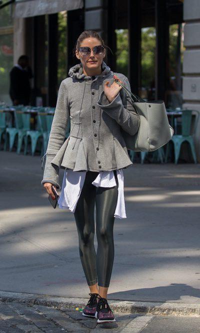 Olivia Palermo crea el look 'sporty chic' definitivo