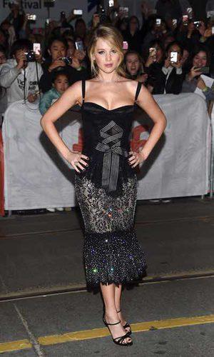 La explosiva Jennifer Lawrence