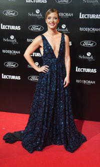 María Casado, espléndida con un vestido de pedrería con escote