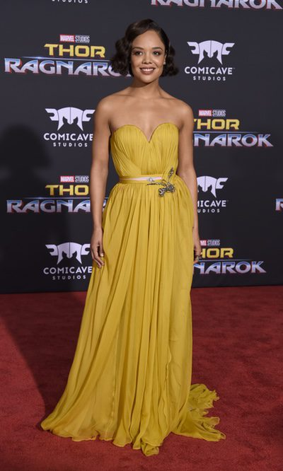 Tessa Thompson, deslumbrante con vestido vaporoso
