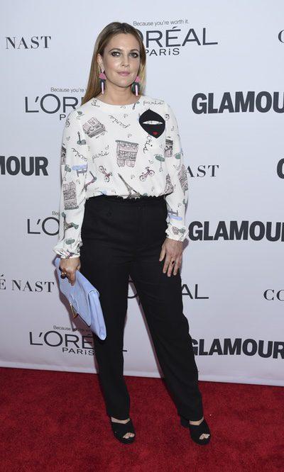 El look parisino de Drew Barrymore