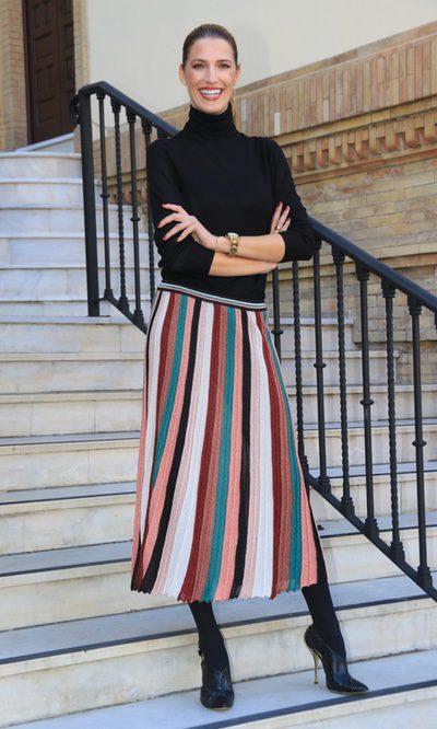 Laura Sánchez más flamenca que nunca