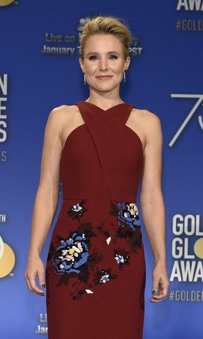 El acertado vestido de Kristen Bell