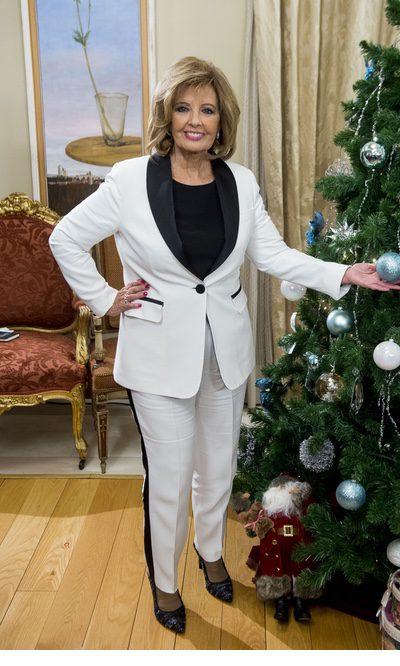 María Teresa Campos con un look bicolor