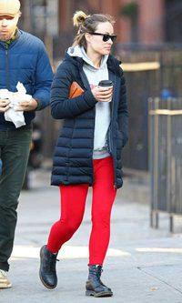 El look de andar por casa de Olivia Wilde