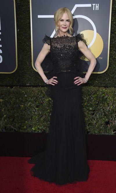 Nicole Kidman defiende su Givenchy