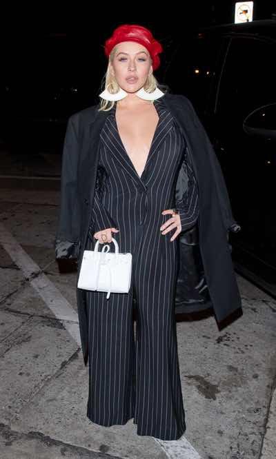 Christina Aguilera, una femme fatale