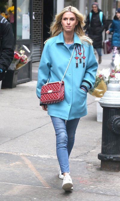 Nicky Hilton, casual por New York