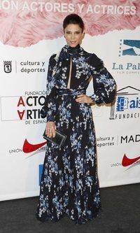 Juana Acosta con un vestido primaveral