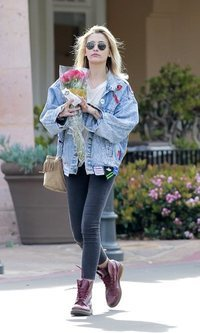 El estilo denim de Paris Jackson