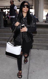 Nicki Minaj, igual de llamativa que siempre