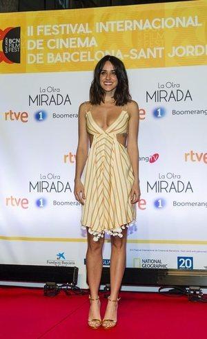 Macarena García con un vestido de infarto