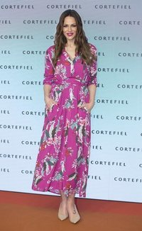 Eva González con un vestido primaveral