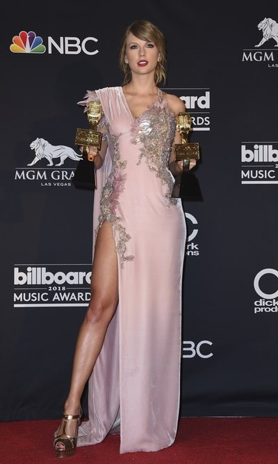 Taylor Swift, todo glamour