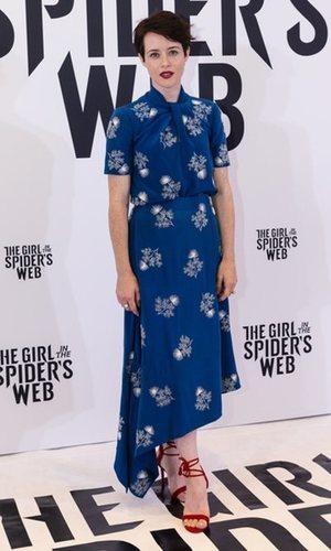 Claire Foy presume de estilo en Barcelona