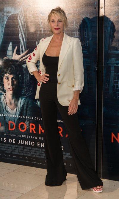 Belén Rueda, radiante con un mono negro
