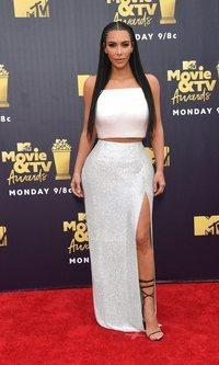 Kim Kardashian de lo más brillante