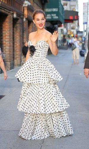 Natalie Portman y su espectacular look