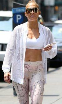 Jennifer Lopez apuesta por lo cómodo