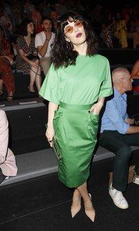 Sara Vega se viste de verde esperanza