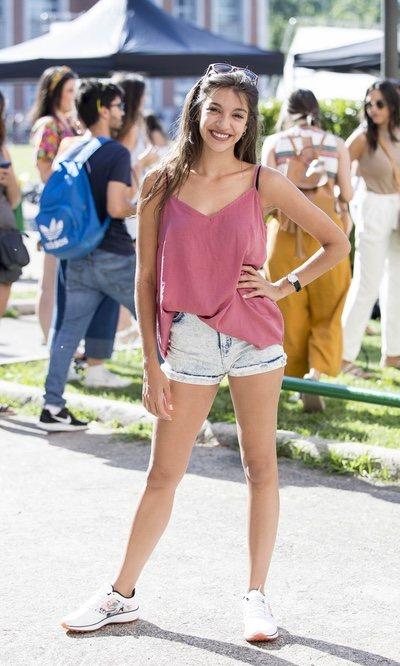 Ana Guerra y su look 'street style'
