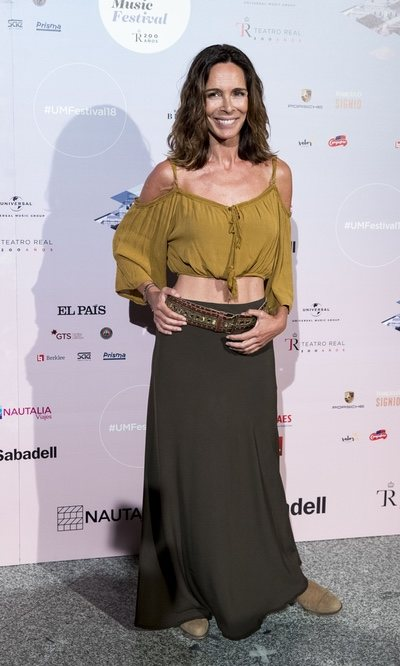 Lydia Bosch con un estilo bohemio