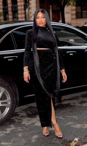 Nicki Minaj, todo al negro