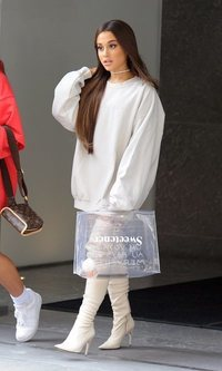 Ariana Grande apuesta por el blanco