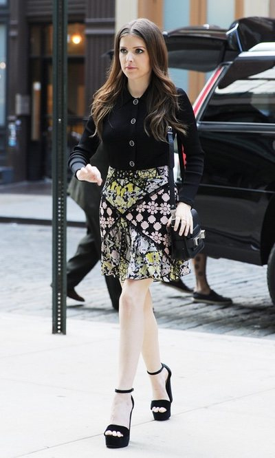 El look formal de Anna Kendrick