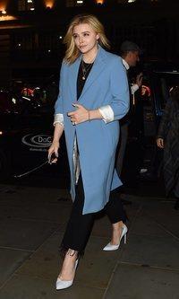El abrigo tendencia de Chloë Grace