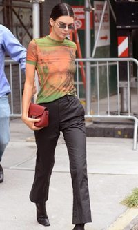 Kendall Jenner, siempre a la última