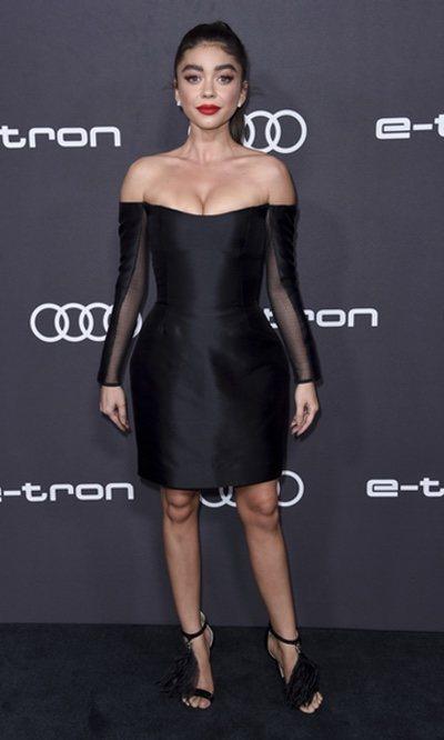 El mini vestido de Sarah Hyland