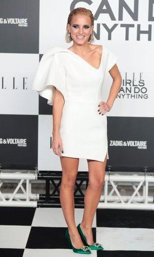 Ana Fernández, look elegante