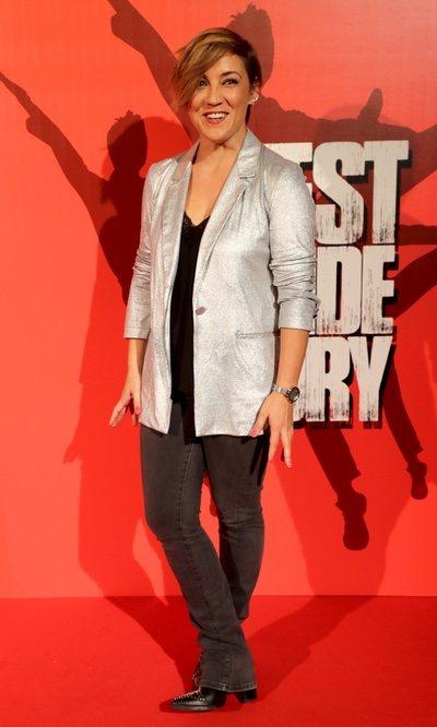 Cristina Pardo, look elegante pero informal