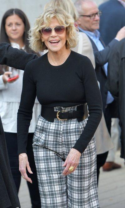 Jane Fonda se rinde a los cuadros