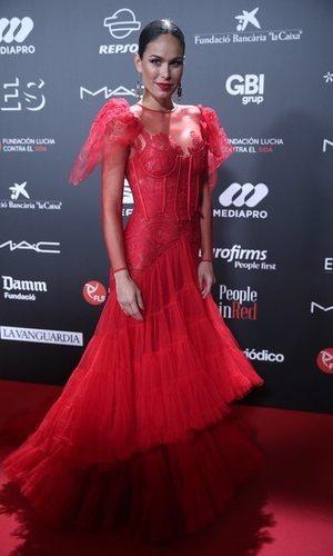 El vestido de encaje de Mireia Canalda