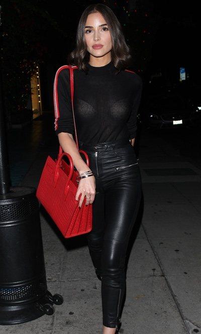 El look sexy de Olivia Culpo