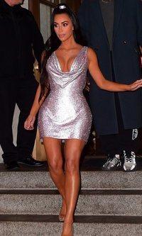 El mini vestido de Kim Kardashian