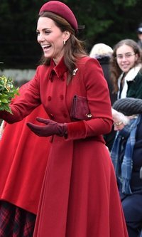 El look monocolor de Kate Middleton