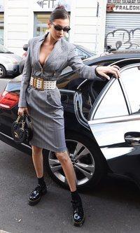 Bella Hadid, lista para arrasar en la Semana de la Moda Masculina