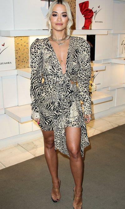 Rita Ora y su estilo salvaje