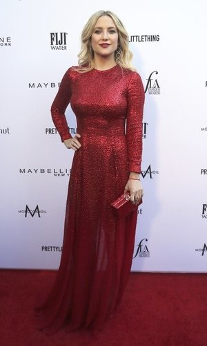 Kate Hudson opta por las lentejuelas